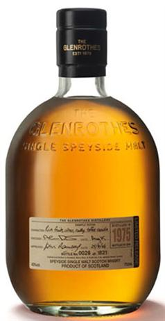 Glenrothes Scotch Malt 1975